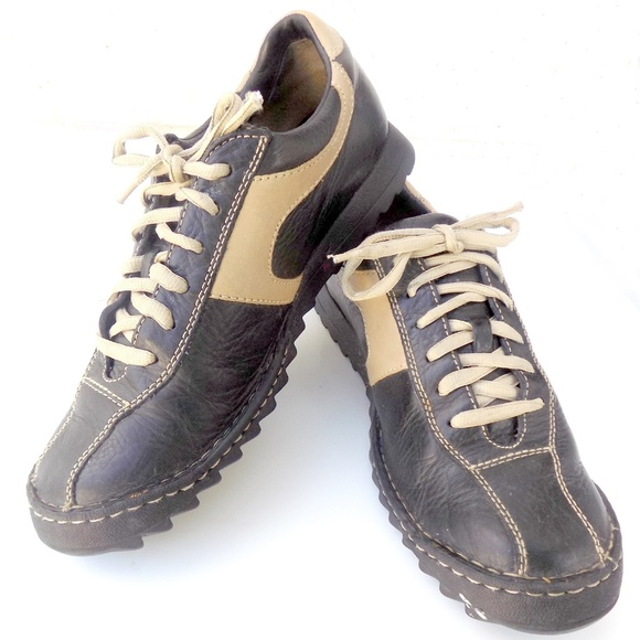 42084648a71 BORN Bicycle Toe Oxfords Lace-up Walk Shoes Mens 9